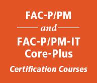 FAC-P/PM Curriculum