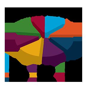 3d explosion effect pie chart