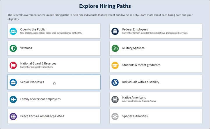 Explore Hiring Paths